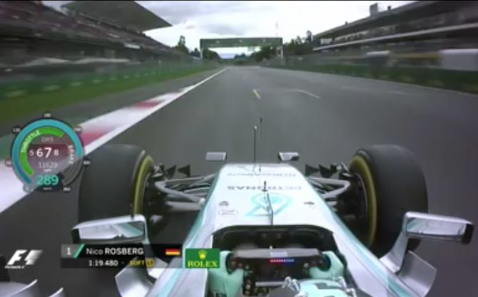 Can You Text While Driving An F1 Car?