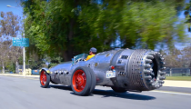 Jalopnik Video: Jason Drives A Rocket Car