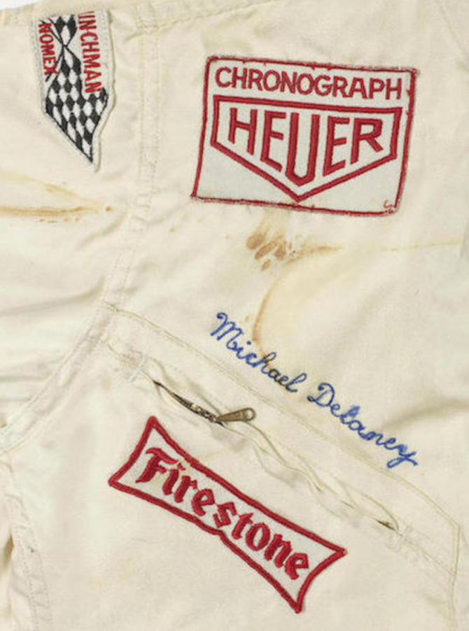 Steve McQueen's Fire Suit Sold For $425k