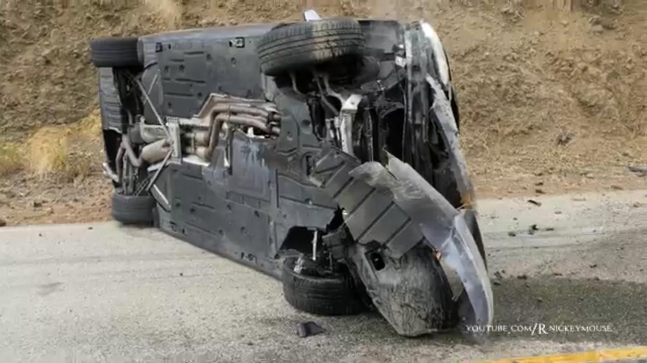 BMW Crash canyon