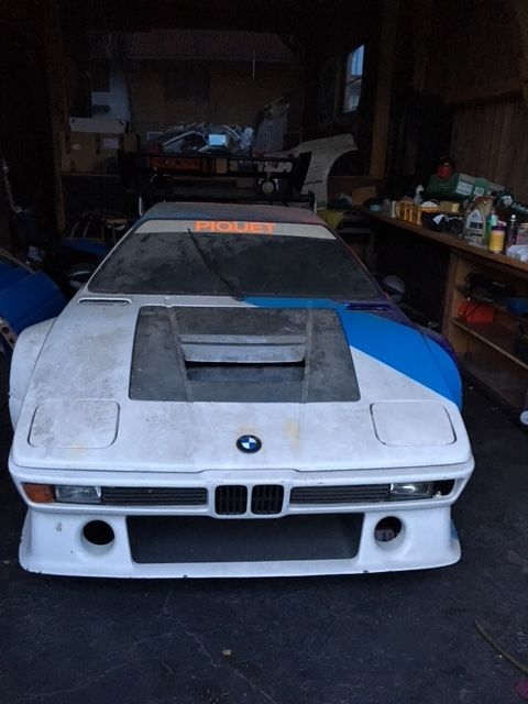 The first BMW M1… found in a barn!?