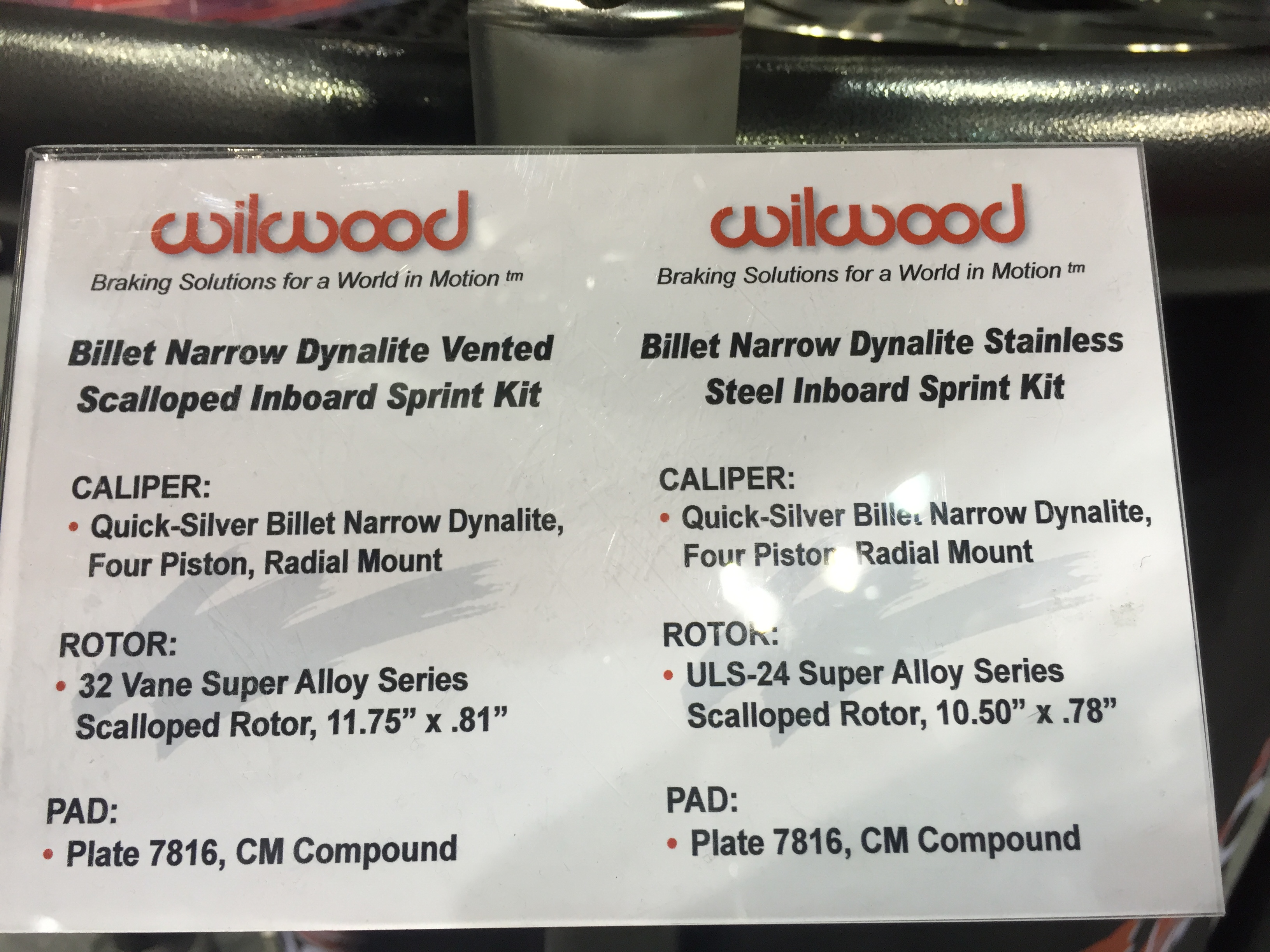 PRI: Wilwood Inboard Rear Brakes – Build Race Party