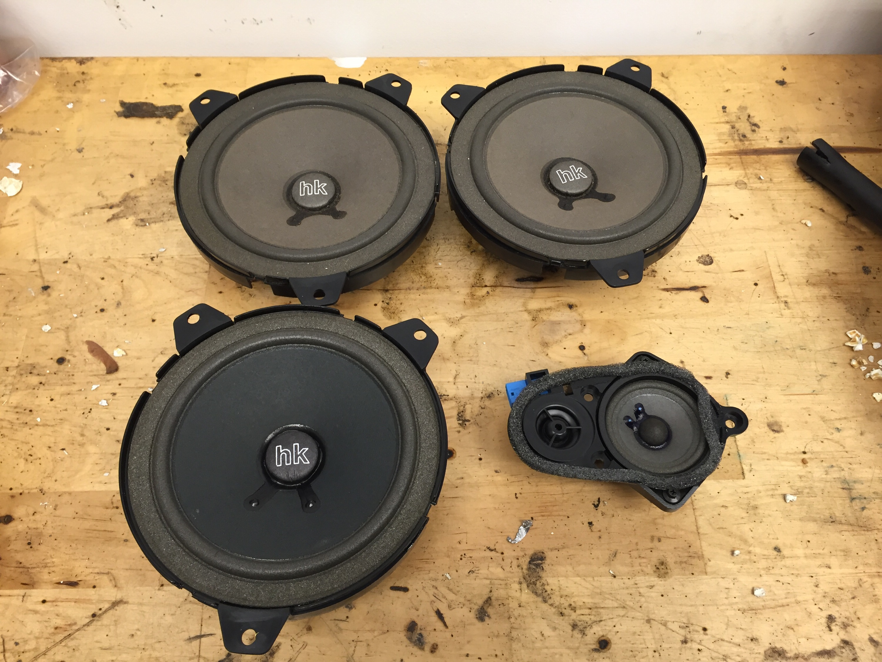 Bavsound E46 Speaker Upgrade Build Race Party Bmw Wiring Can You See A Speakers Sound If This Makes Much Better Than The Factory Im Replacing Woofer Itself Looks Like