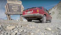 Tackling A Mountain Pass In An E30