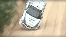 Insane Rally Crash: Mineshaft!