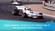 The 8 Weirdest Racecars In History