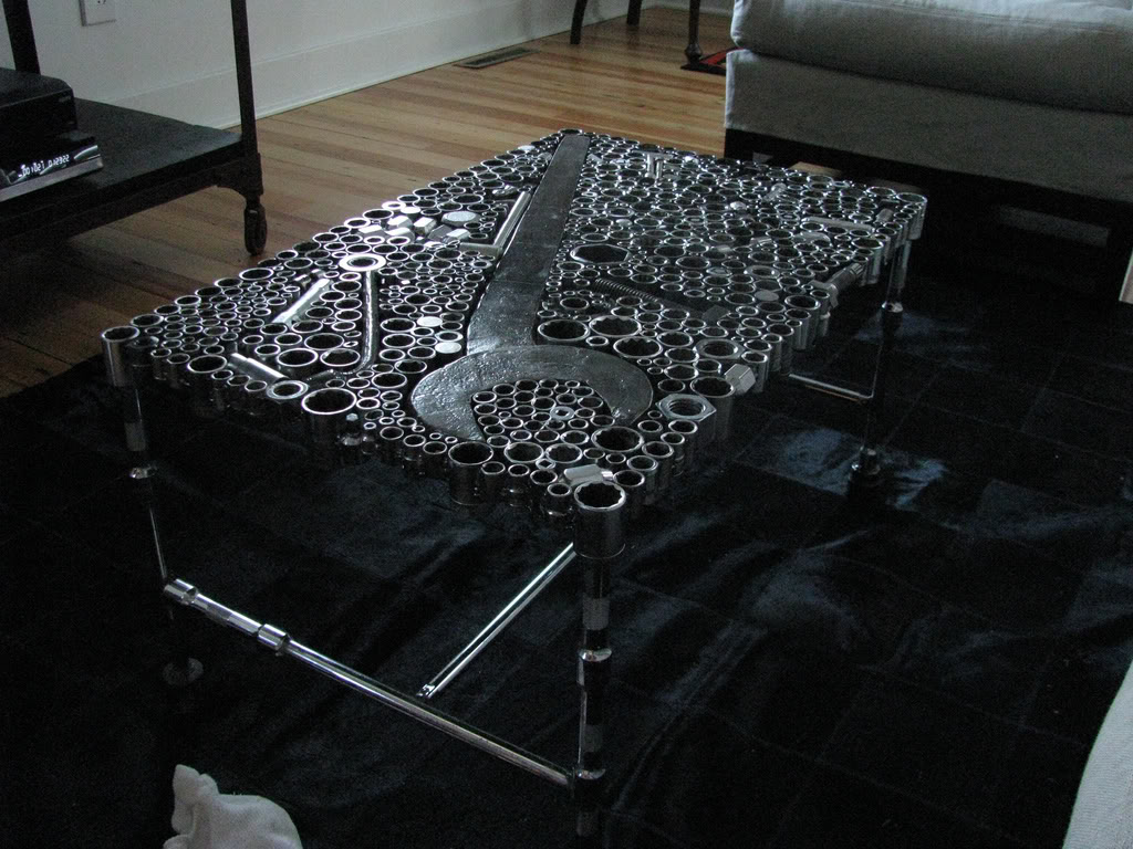 repurposed car parts build race party. Black Bedroom Furniture Sets. Home Design Ideas