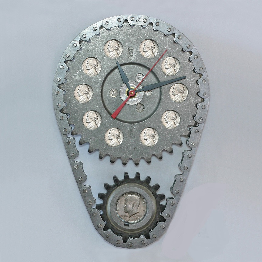 chevy_timing_chain_and_gears_coins_wall_clock_ssd_1024x1024