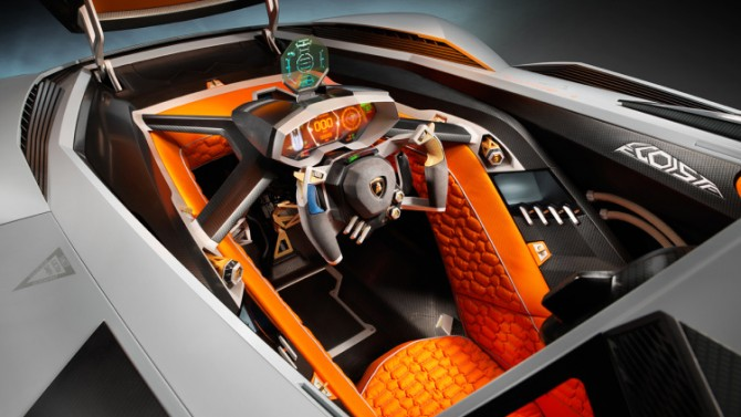 "Lamborghini Files For ""Egoista"" Name"