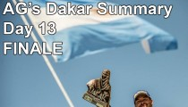 AG's Dakar Summary – Day 13 and FINALE!