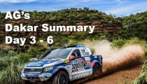AG's Dakar updates, Day 3-7