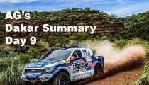 AG's Dakar Summary – Day 9