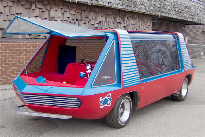 For Sale: The Super Van!