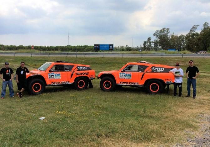 Robby Gordon and Sheldon Creed Pre-Dakar Interview