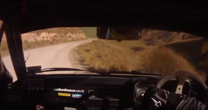 WRC Driver Hayden Paddon In a RWD Escort!