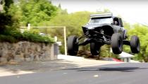 VW Bug Terrorizes San Diego