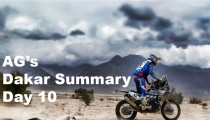 AG's Dakar Summary – Day 10