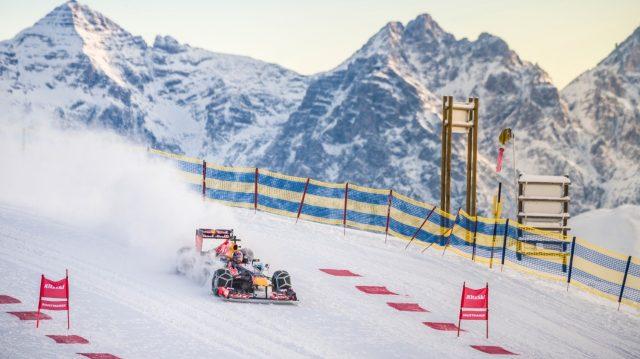 F1 ski slope