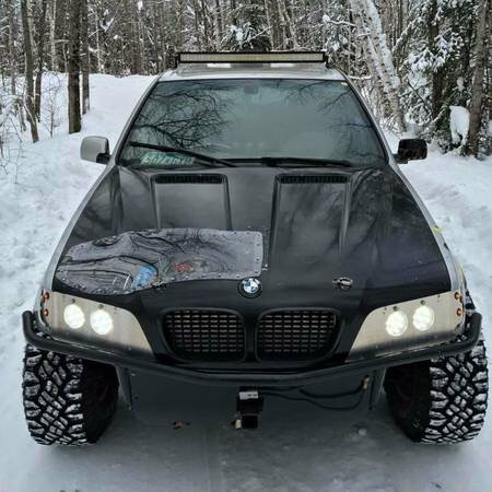 You Know You Need This X5 LS Turbo Swap Mad Max Machine