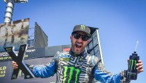 KEN BLOCK PODIUMS IN FIA WORLD RX HOCKENHEIM