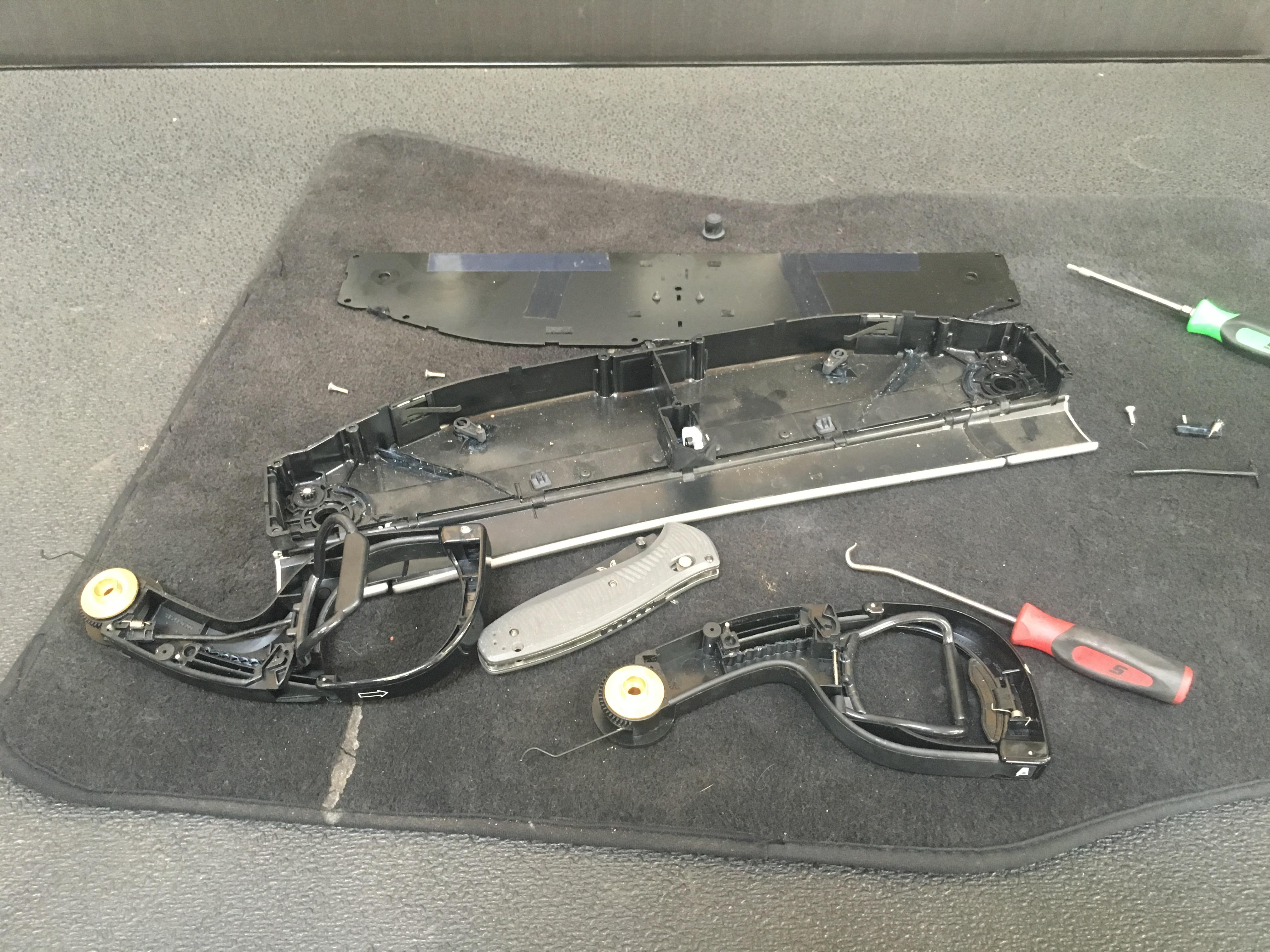 DIY Porsche 911 cupholder repair