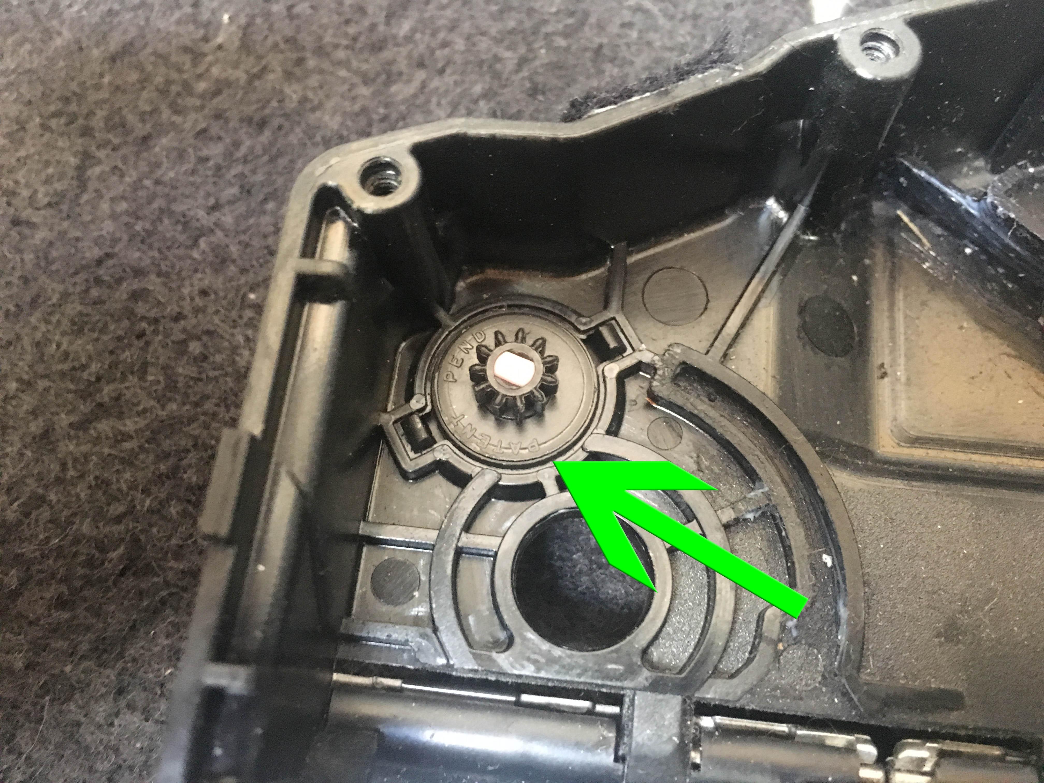 porsche 911 cup holder repair