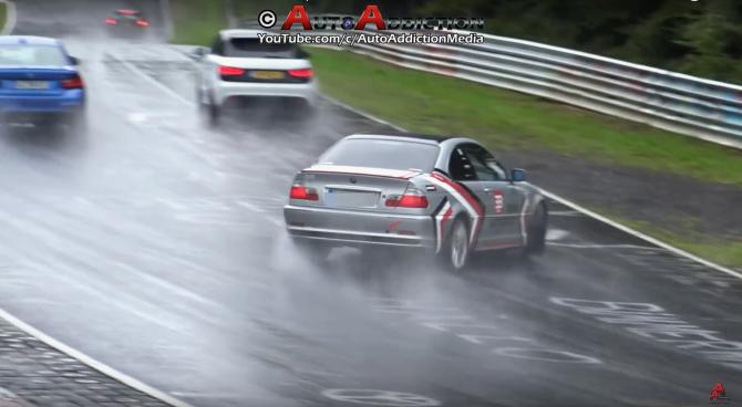 Nurburgring Crash, Fail, and Win!