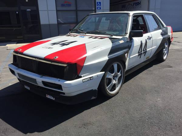 Audi Widebody Racecar For Sale