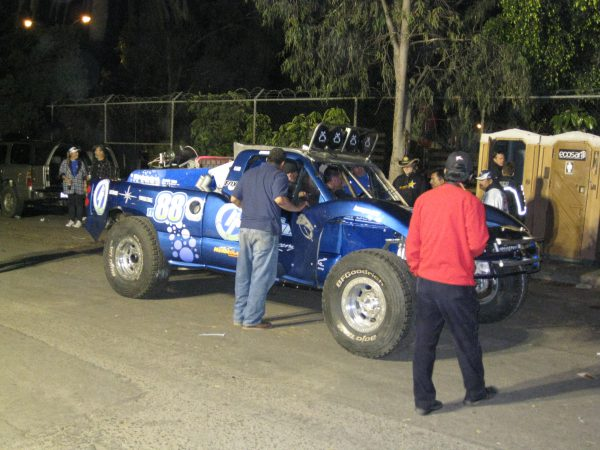 Pro race truck at the Baja 1000