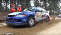 Rally Car Launches at Sandblast Rally – Pure Sound!