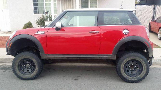 For Sale: Off Road Mini Cooper!