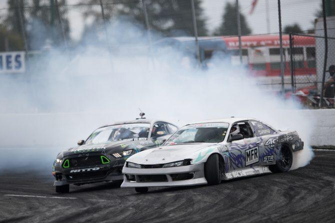 Vaughn Gittin Moves to Third in Formula D after Seattle