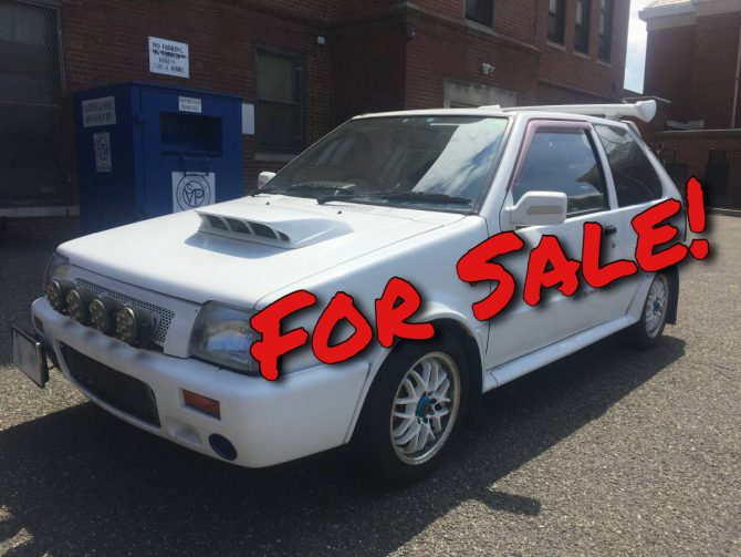 For Sale: Nissan March Super Turbo Hotness!