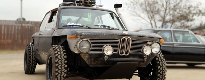 This Offroad 2002 is the original BMW X2!