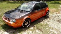 For Sale: Mid Engined, Supercharged, VW Golf!