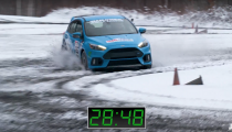 Drift vs. Track Mode on the Focus RS