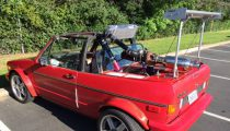 Mid Engine VW Rabbit Cabriolet