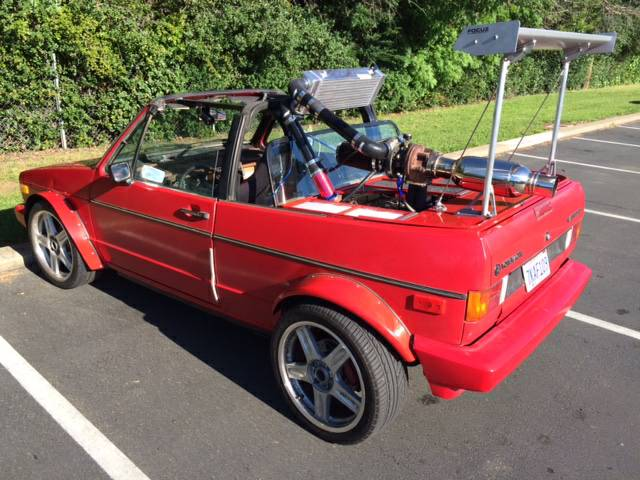 fiero vw convertible