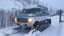 For Sale: Yellowstone Snow Cat Van