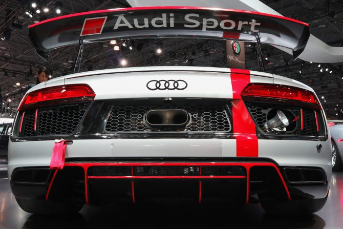 REJOICE! Audi brought cars that we actually want to see to the NYIAS