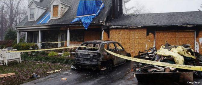 BMW's bursting into flames