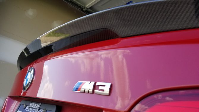 DIY: Installing Carbon Fiber Spoiler on a M3