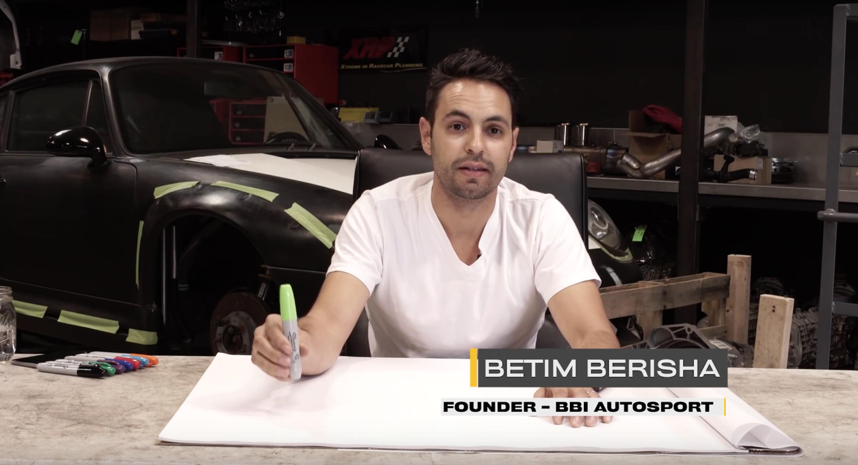 Betim Berisha, founder of BBI Autosport