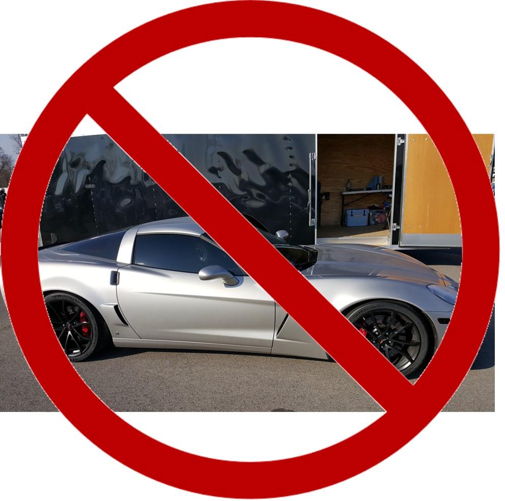 Corvette too loud